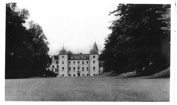 Historic image of Barony Castle