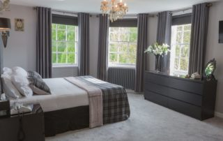 The Dean View Suite at Barony Castle